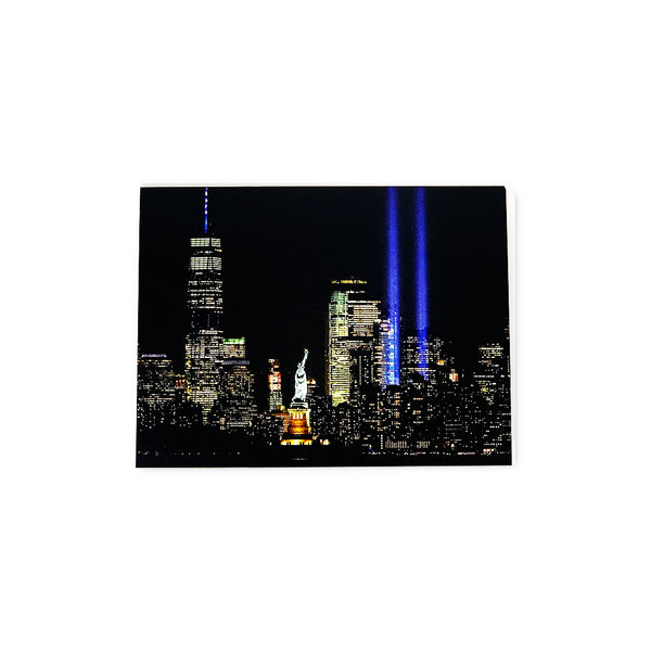 Tribute in Light Notecard