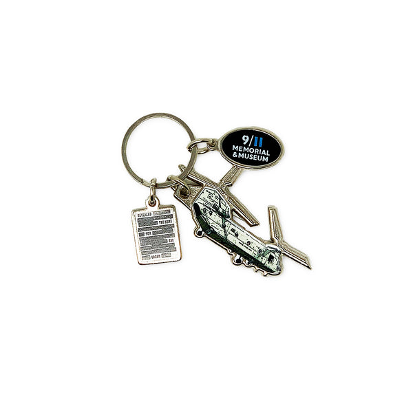 CH-47 Chinook Helicopter Keychain