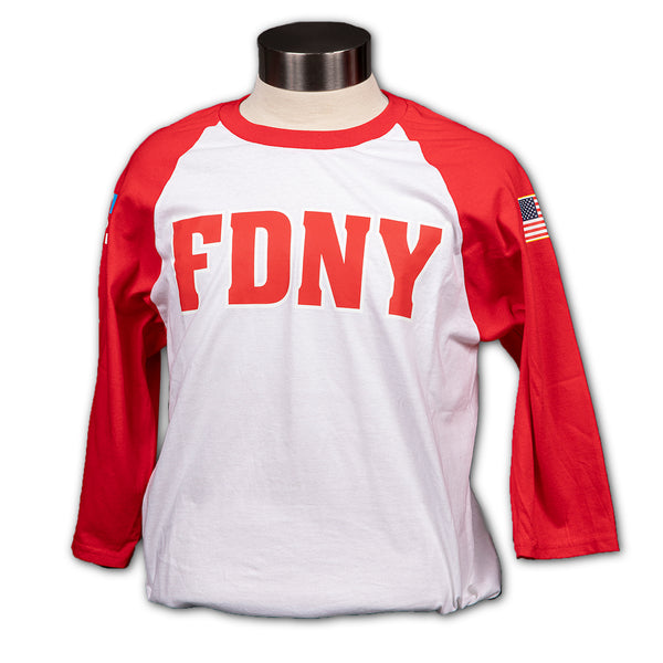FDNY 3/4 Sleeve T-Shirt