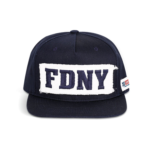 FDNY Firehose Panel Cap - Navy