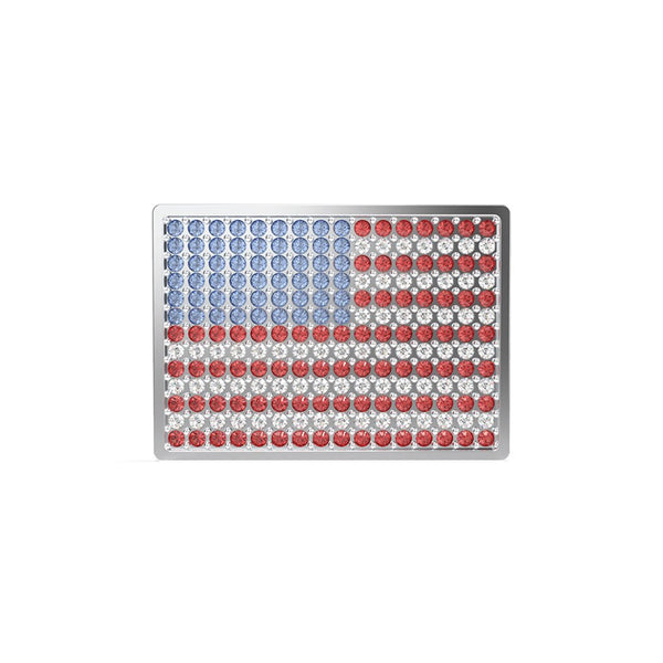 Swarovski Flag Lapel Pin