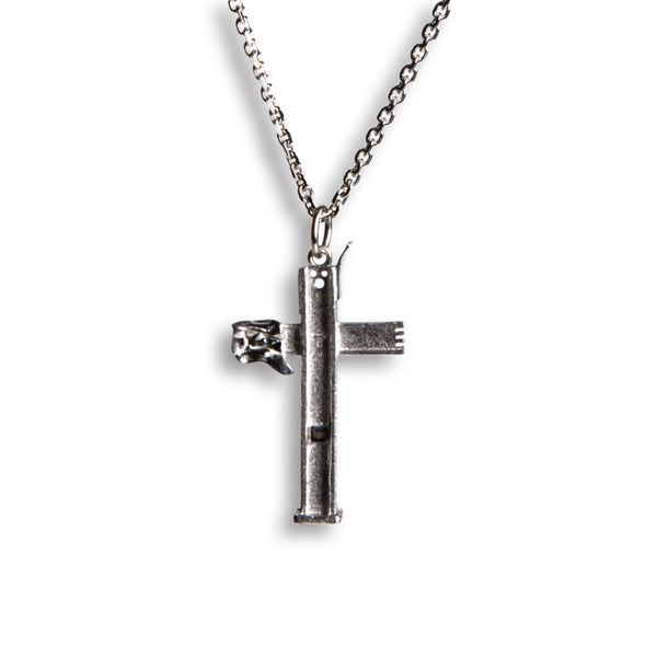 Cross at Ground Zero Necklace