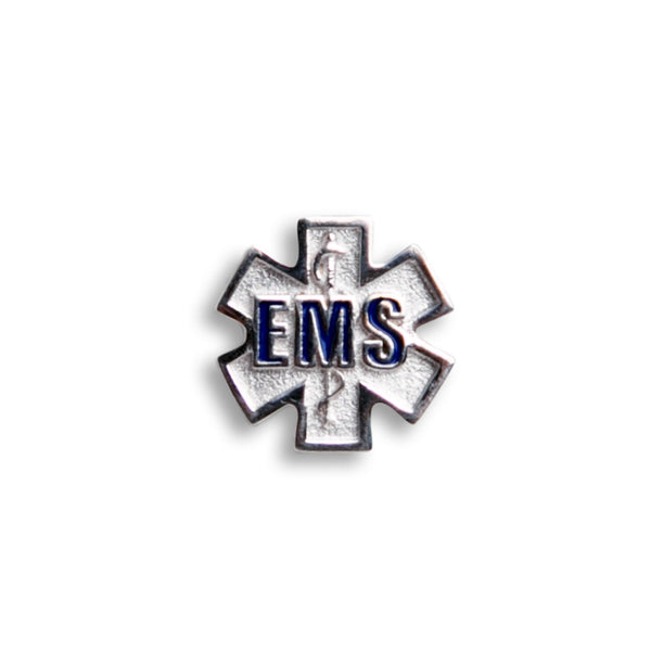 Sterling Silver EMS Charm