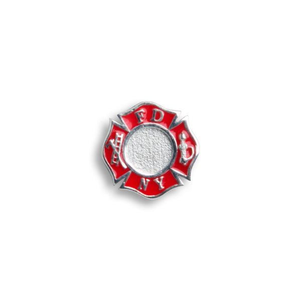 Charm - Sterling Silver FDNY