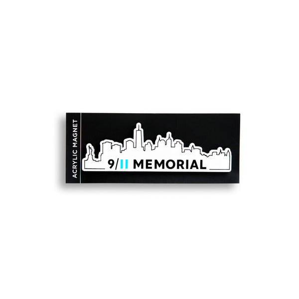 9/11 Memorial Skyline Magnet