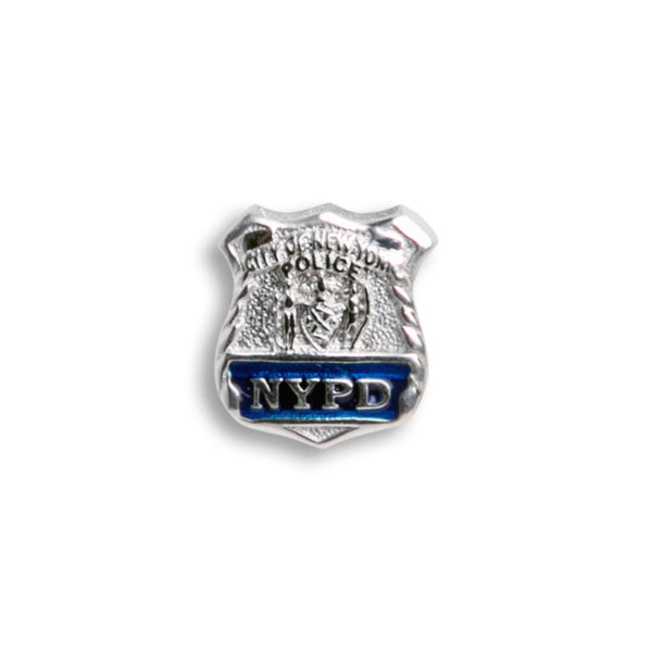 Charm - Sterling Silver NYPD