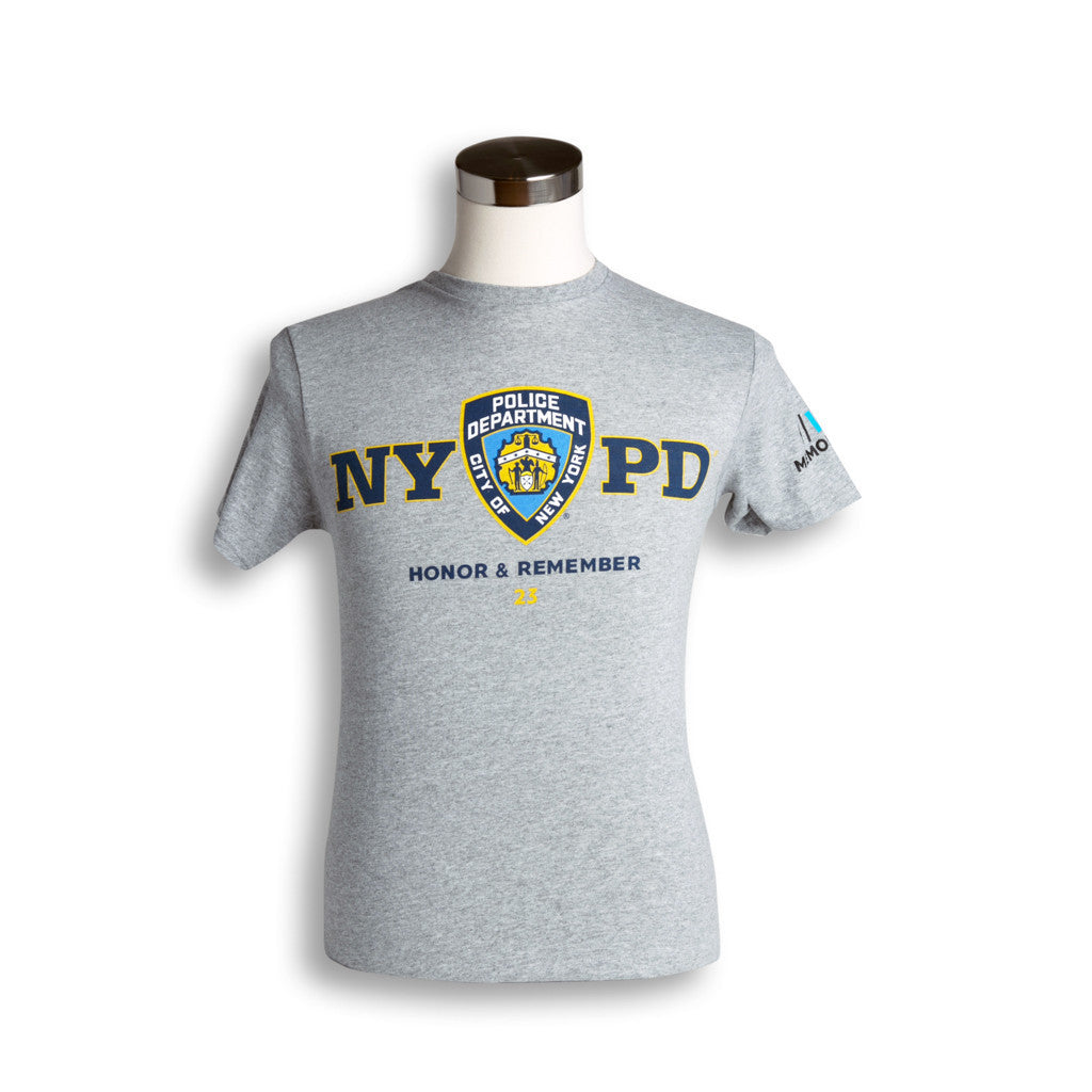 45accc3d NYPD 23 T-Shirt – 9/11 Memorial Museum Store