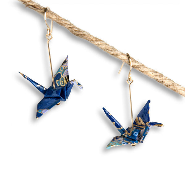 Paper Crane - Earrings