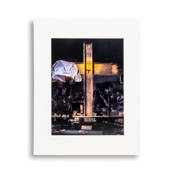 Cross at Ground Zero Print