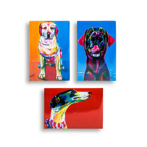 Magnet Set - Rescue Dogs