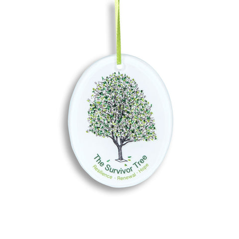 Survivor Tree Glass Keepsake