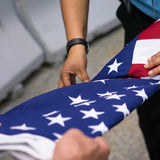 U.S. Flag Flown Over the 9/11 Memorial