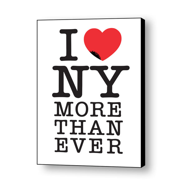 I Love NY More Than Ever Canvas