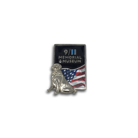 Rescue Dog Lapel Pin