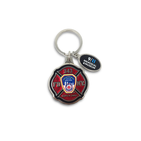 FDNY Maltese Cross Keychain