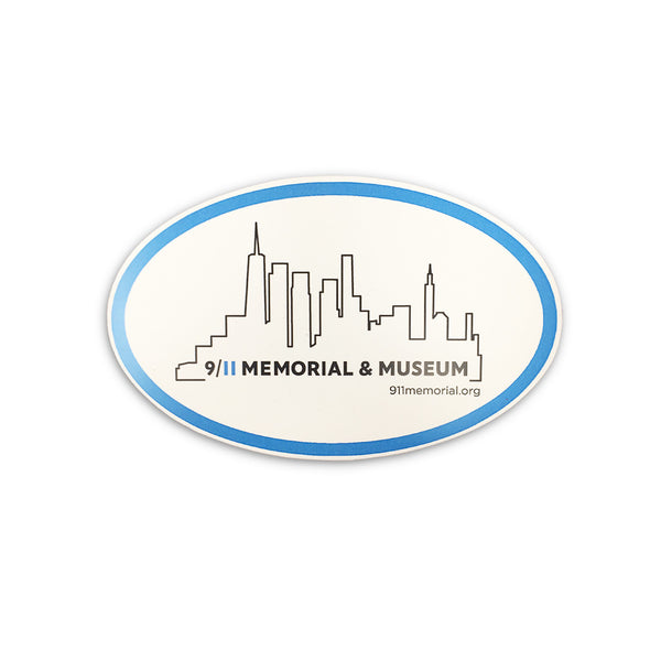 Skyline Car Magnet