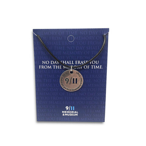 9/11 Memorial Token Necklace