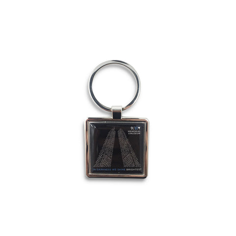 In Darkness We Shine Brightest Keychain