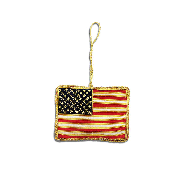 Embroidered Flag Keepsake