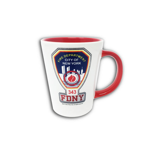 FDNY Patch Red Mug