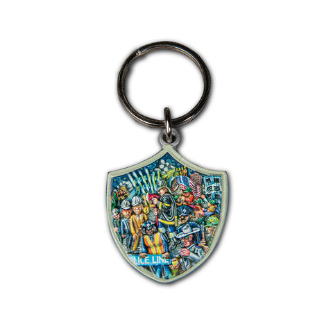 Shield Keychain
