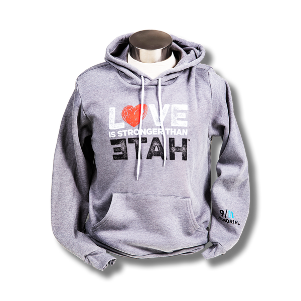 Love is Stronger than Hate Hooded Sweatshirt