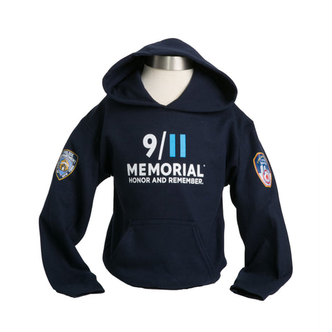 Youth Hooded Sweatshirt - PD/FD Memorial