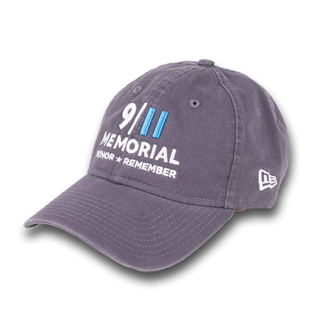 9/11 Memorial New Era Cap - Charcoal