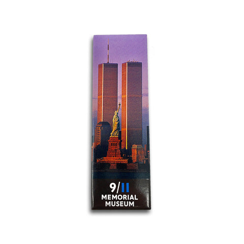 Twin Towers & Statue of Liberty Magnet