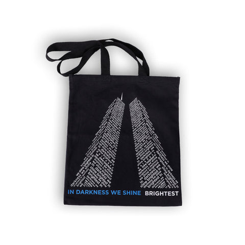 In Darkness We Shine Brightest Tote Bag