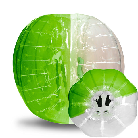 adult, bubble soccer, bubble bump, bubble ball, knockerball, battle balls green / red adult