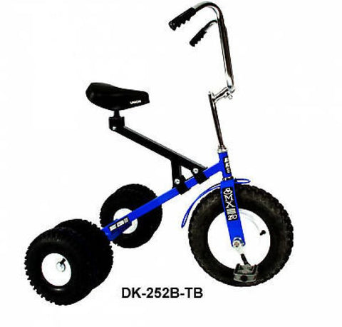 Big Kid Dually Tricycle All Terrain Tires Adjustable Seat Ages 7 to Adult Made in USA - Omni Gift Shop