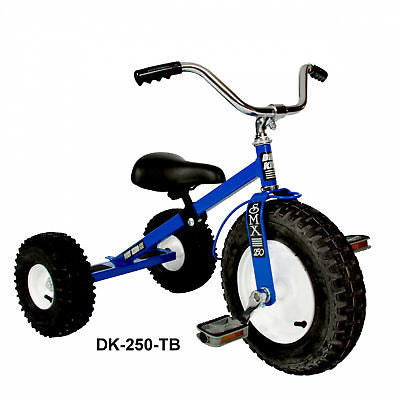 Child's Tricycle All Terrain Tires Adjustable Seat Tilting Handlebars Ages 3-6 Made in USA - Omni Gift Shop