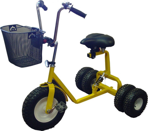 WindRoamer Adult Dually Step-Thru Tricycle All Terrain Tires Made in USA - Omni Gift Shop