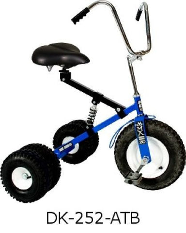 Adult Dually Tricycle Heavy Duty All Terrain Tires Adjustable Seat Ages 10 to Adult Made in USA - Omni Gift Shop