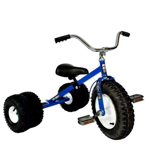Child's Dually Tricycle All Terrain Tires Adjustable Seat Tilting Handlebars Ages 4-5 Made in USA - Omni Gift Shop