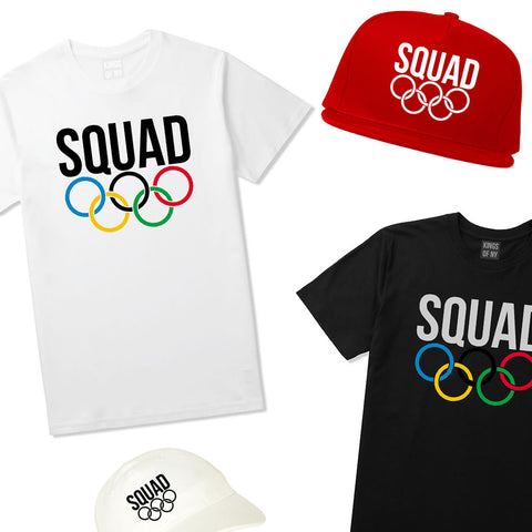 Olympic Squad Rings Apparel
