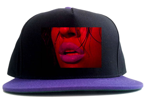 06 Lips Racing 2 Tone Snapback Hat