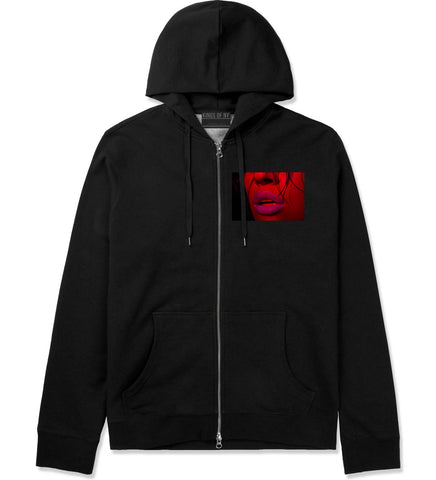 06 Lips Racing Zip Up Hoodie