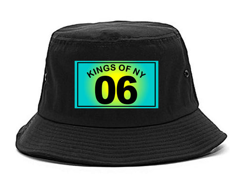 06 Gradient 2006 Bucket Hat in Black by Kings Of NY