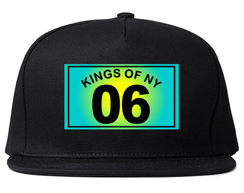06 Gradient 2006 Snapback Hat in Black by Kings Of NY