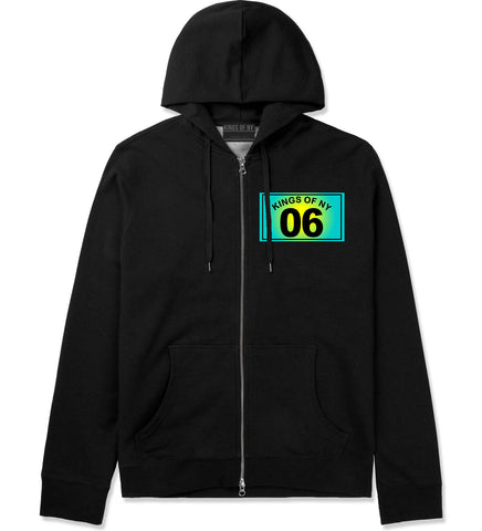06 Gradient 2006 Zip Up Hoodie Hoody in Black by Kings Of NY