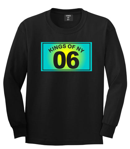 06 Gradient 2006 Long Sleeve T-Shirt in Black by Kings Of NY