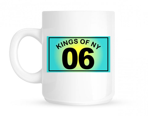 06 Gradient 2006 Coffee Tea Mug in White by Kings Of NY