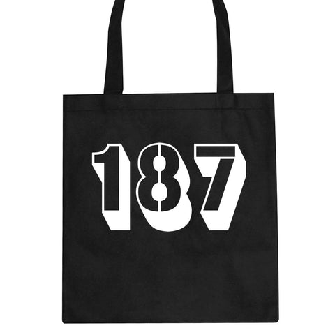 187 Homicide Police Code Tote Bag by Kings Of NY