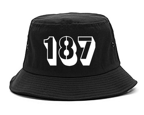187 Homicide Police Code Bucket Hat by Kings Of NY