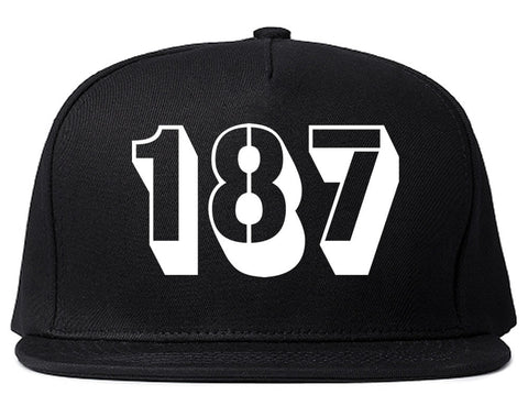 187 Homicide Police Code Snapback Hat Cap by Kings Of NY
