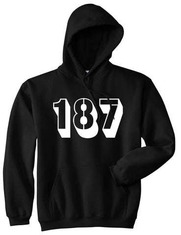 187 Pullover Hoodie Hoody in Black by Kings Of NY