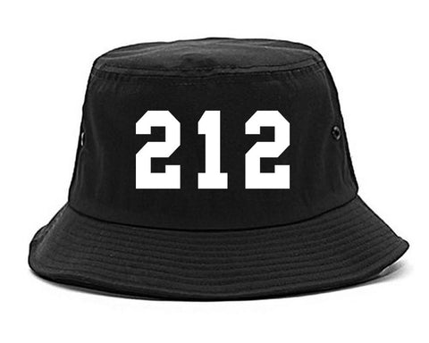 212 New York Area Code Bucket Hat By Kings Of NY