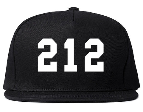 212 New York Area Code Snapback Hat By Kings Of NY